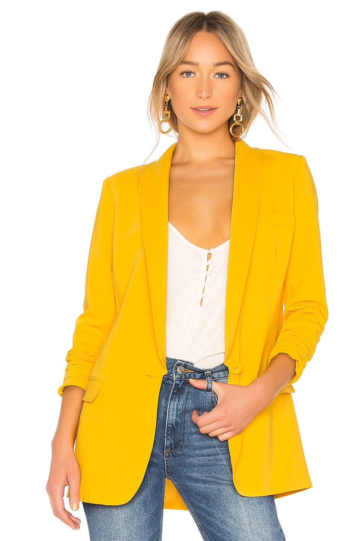 PRIVACY PLEASE Makena Blazer in Yellow