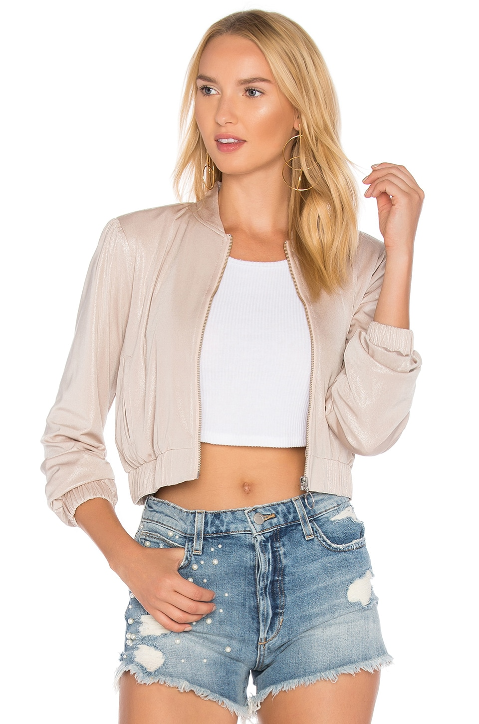 X REVOLVE Boulevard Bomber by Privacy Please