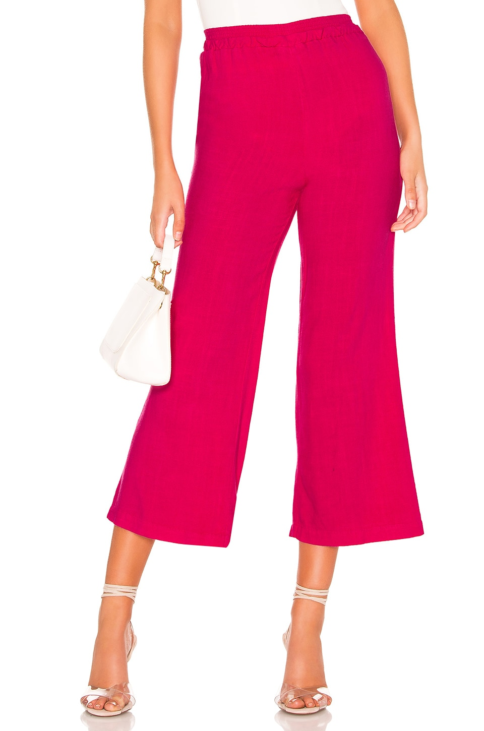 Privacy Please Rosa Pant in Bright Pink