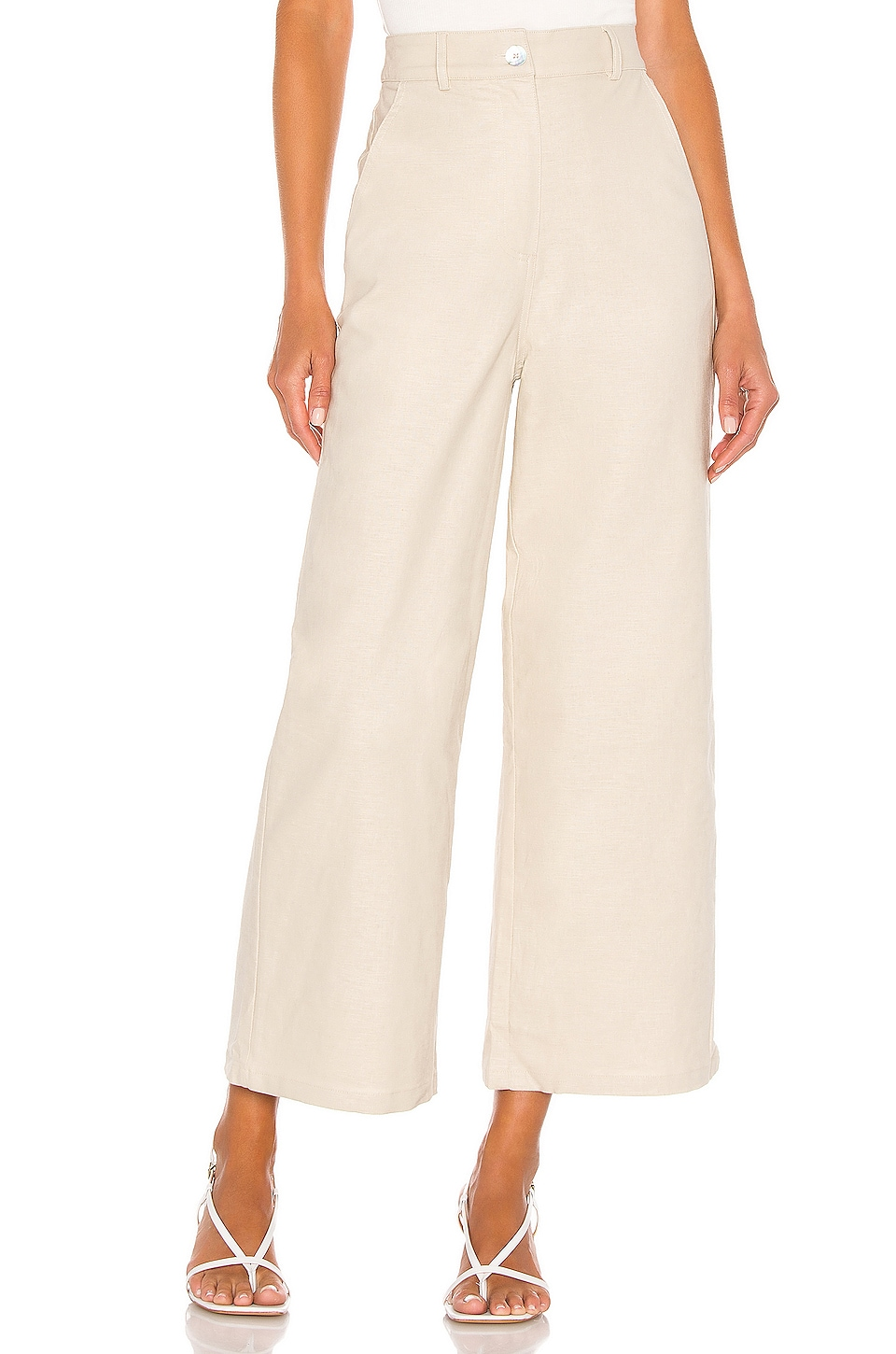 Privacy Please Belmont Pant in Natural Tan