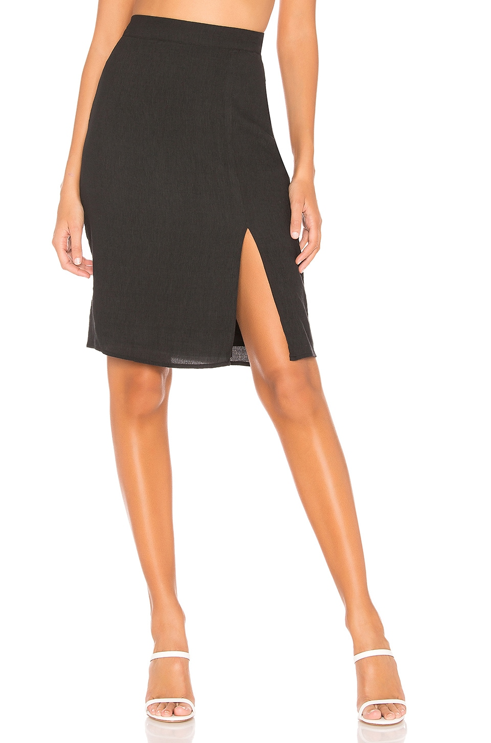 Privacy Please Mallory Skirt in Black