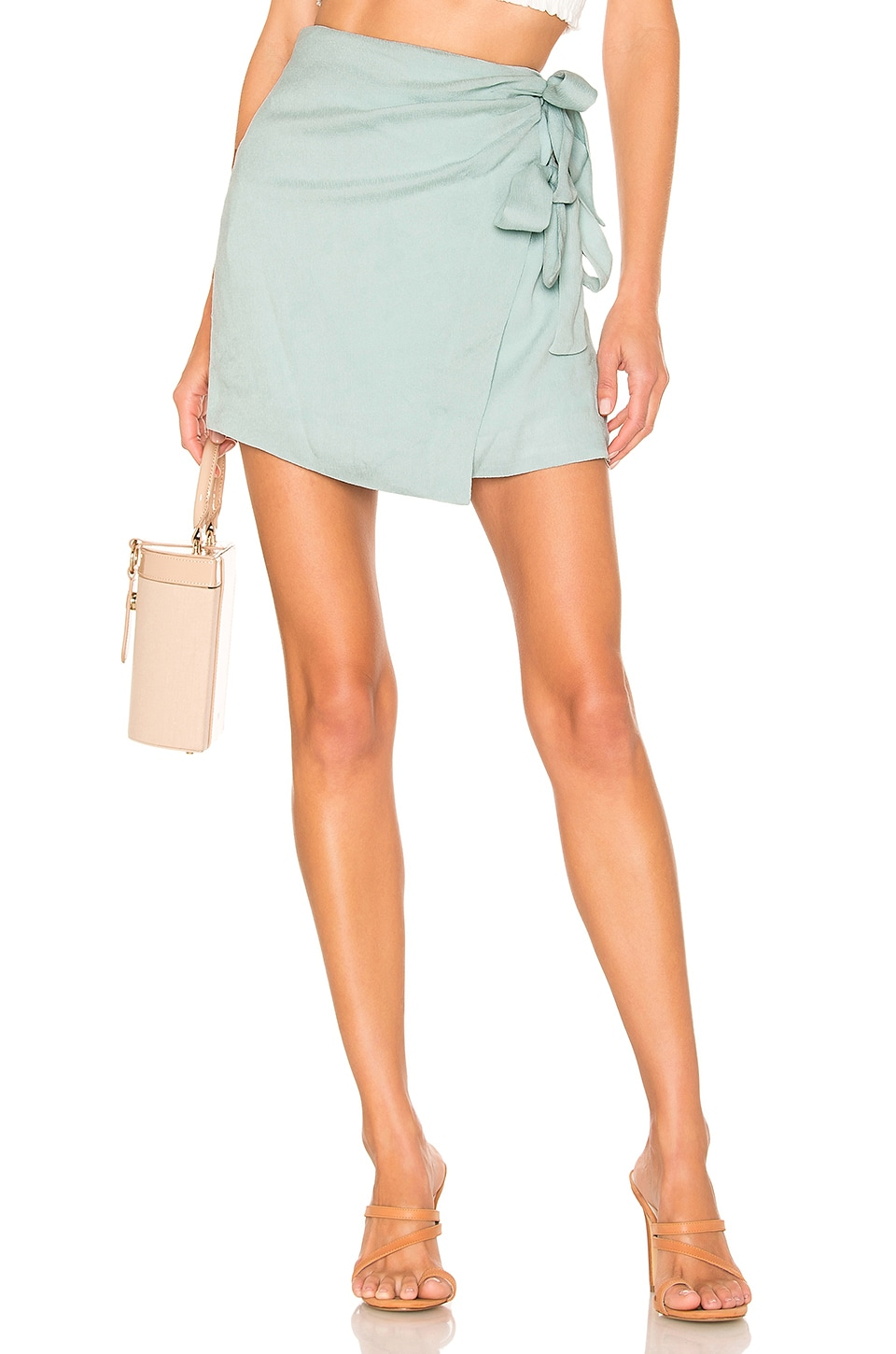 Privacy Please Pauline Skirt in Sage