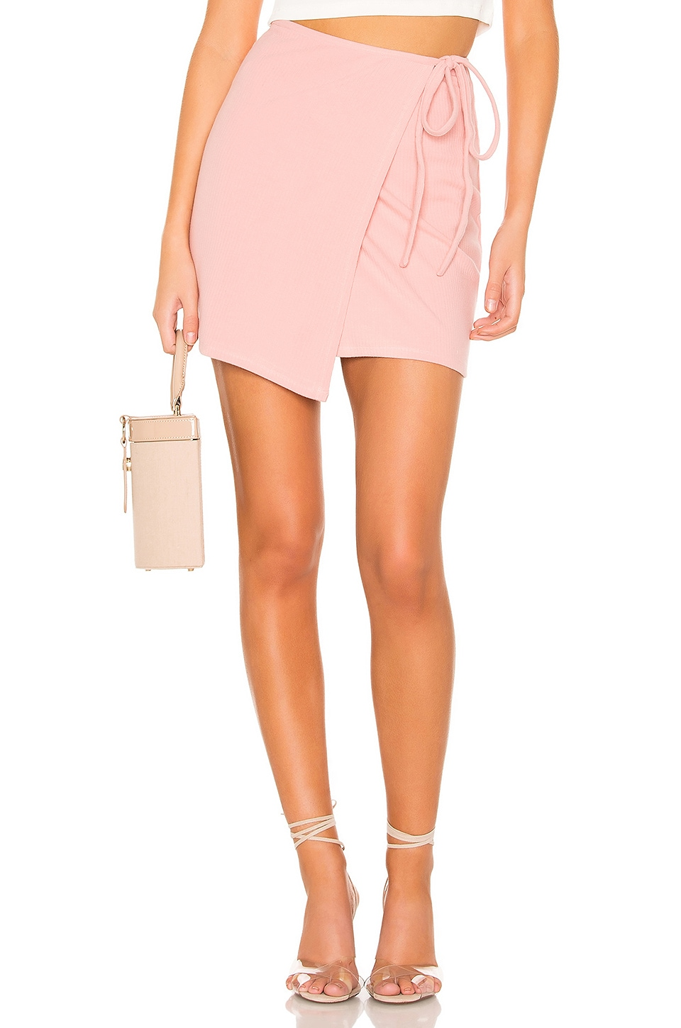 Privacy Please Miller Skirt in Pink