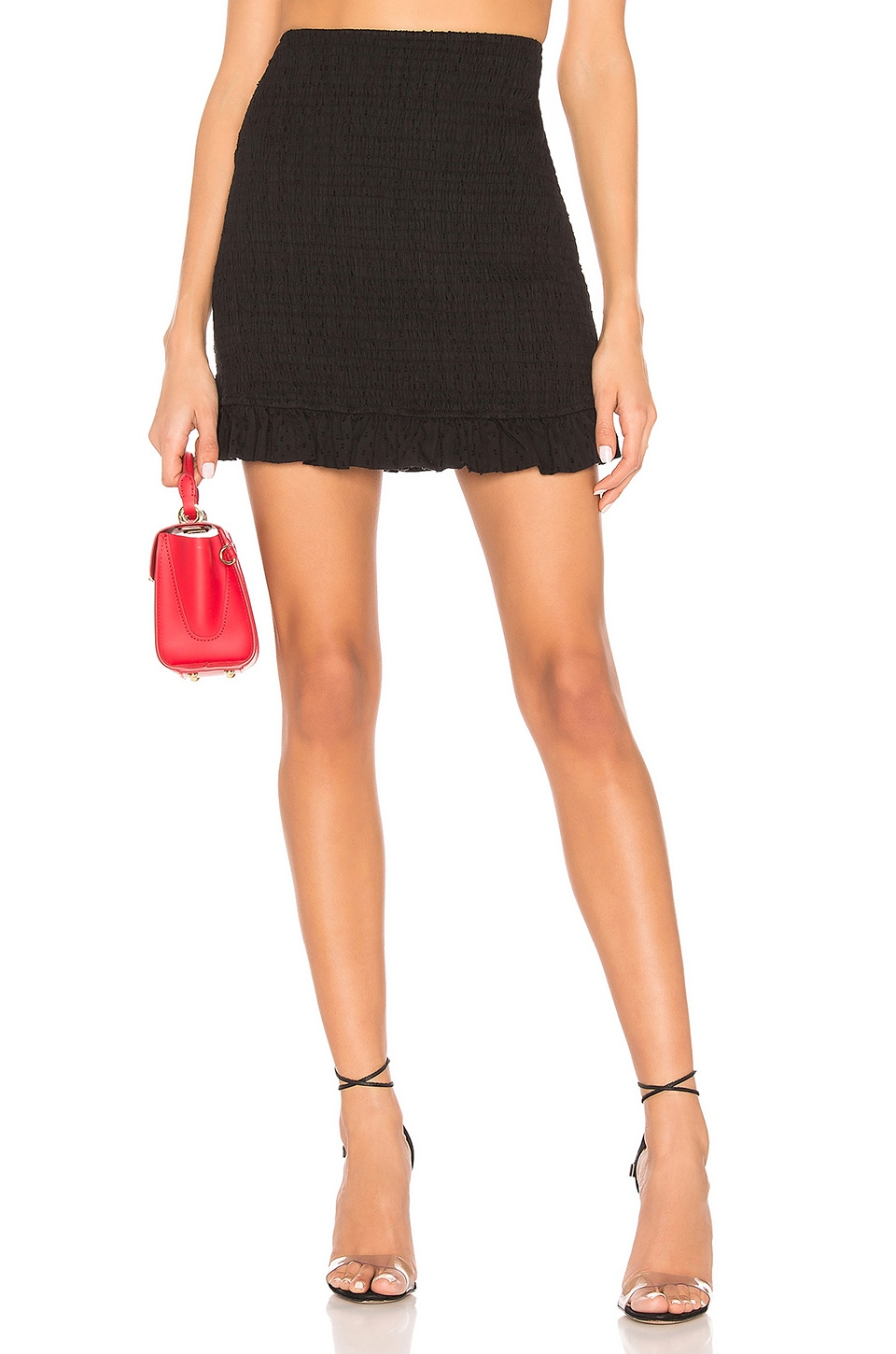 Privacy Please Woodbridge Skirt in Black