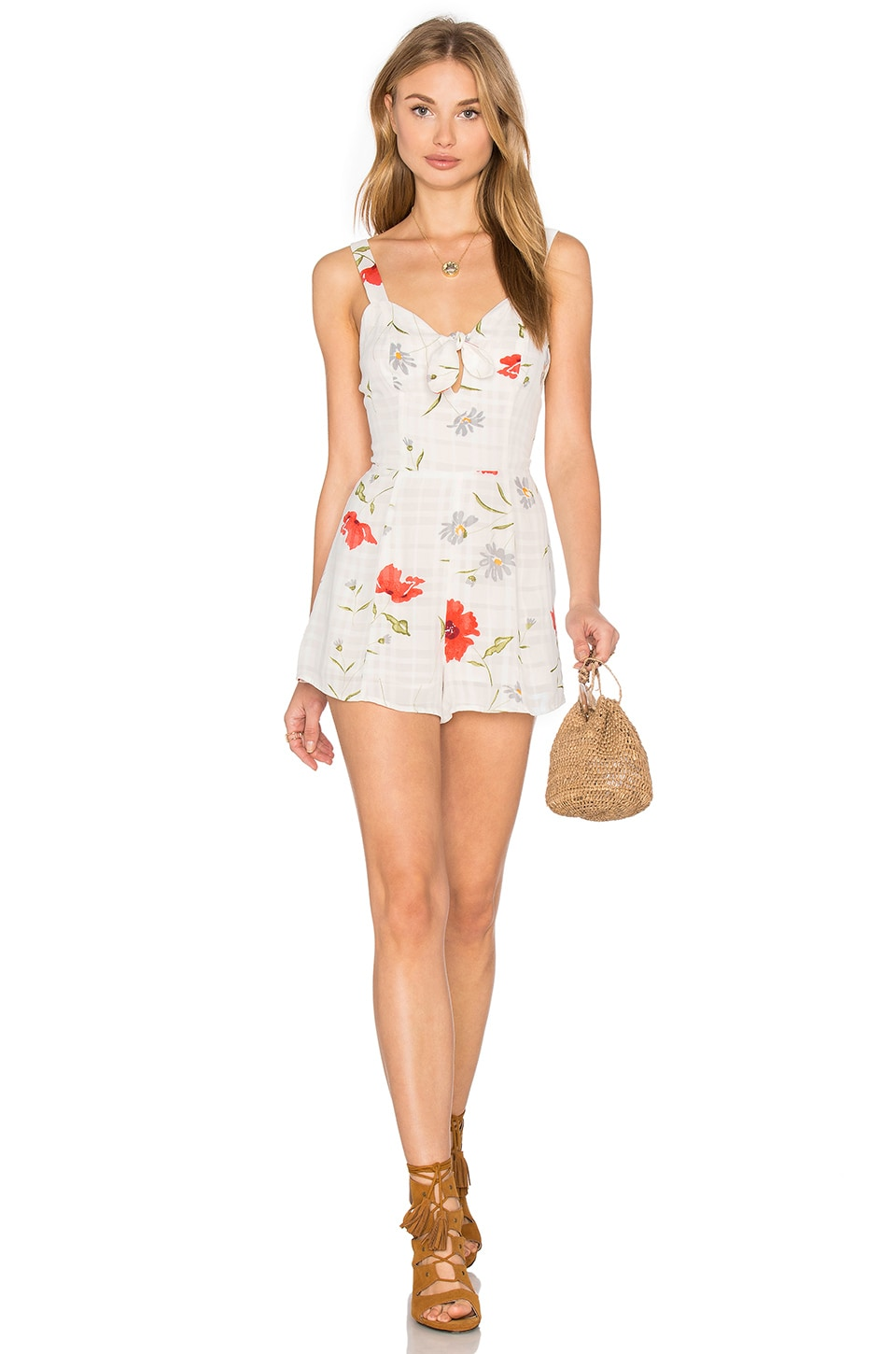 Privacy Please x REVOLVE Avena Romper in Floral