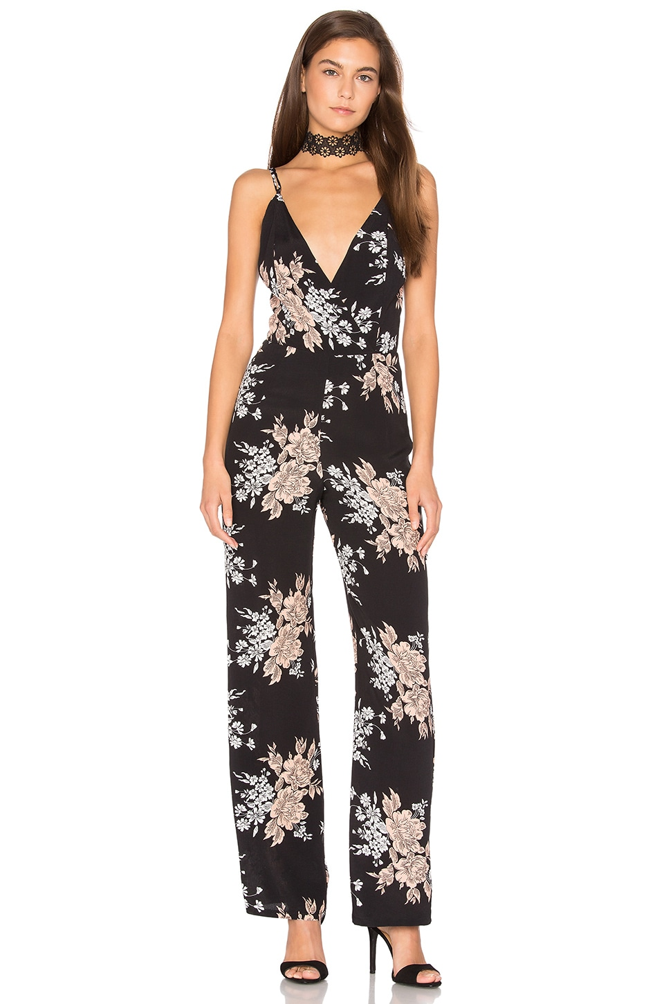 Privacy Please Dale Jumpsuit in Black
