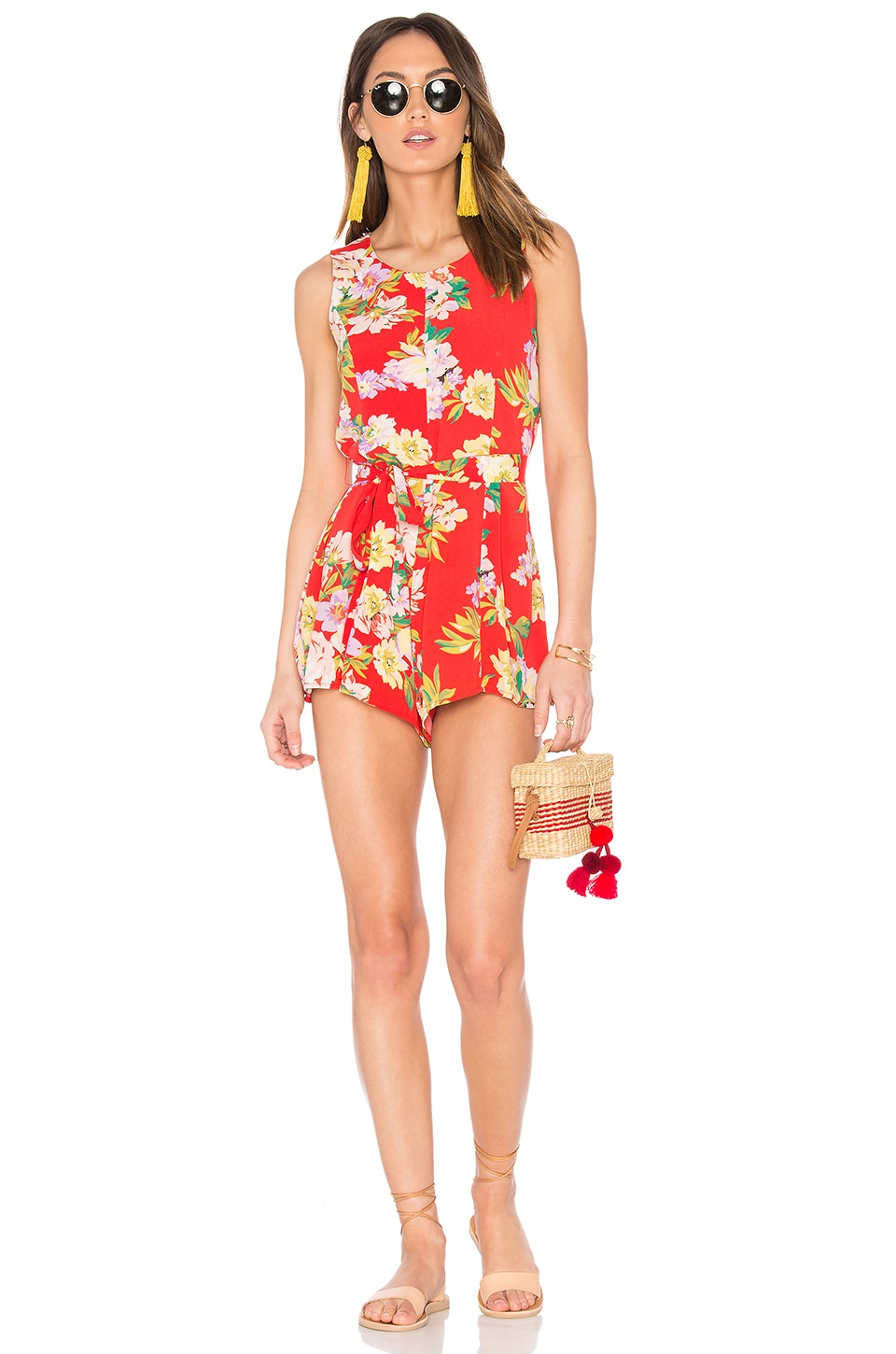 x REVOLVE Cora Romper by Privacy Please