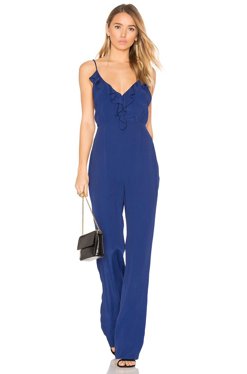 Privacy Please Bedford Jumpsuit in Navy