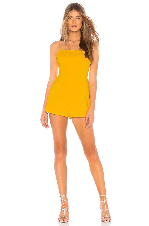 Privacy Please Nimah Romper in Sunny Yellow