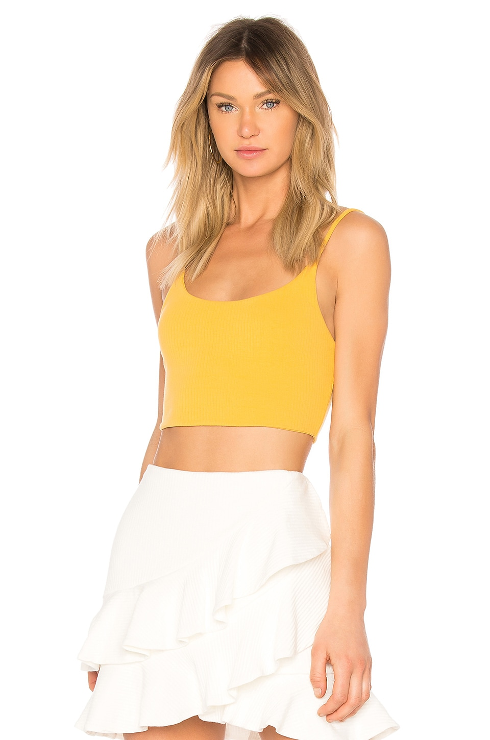 Privacy Please Privett Top in Marigold