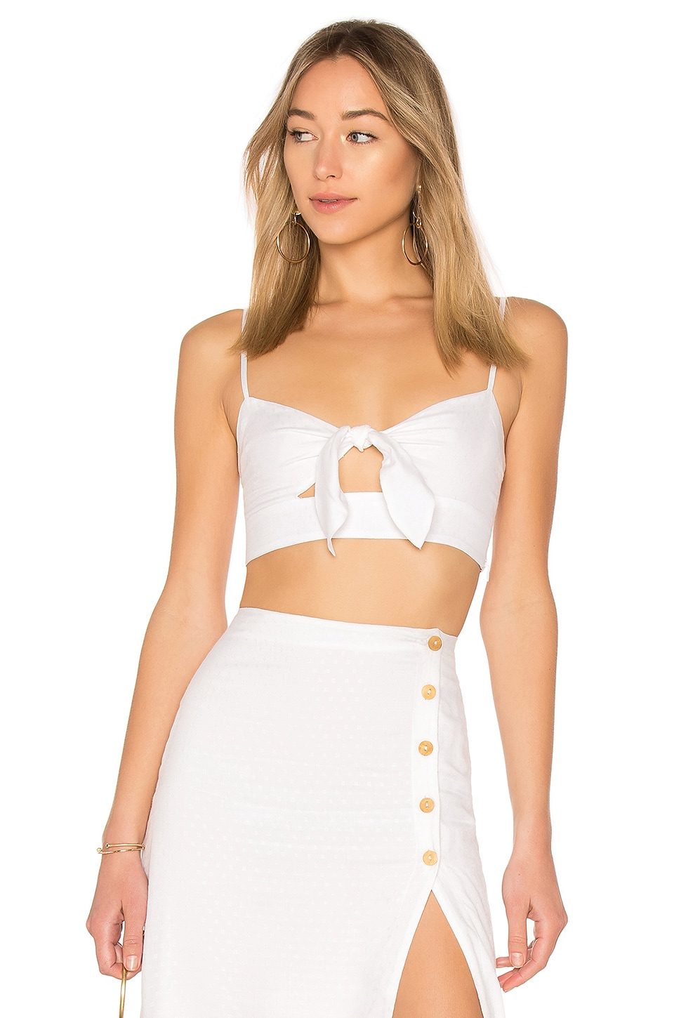 Privacy Please Lewisville Top in Ivory