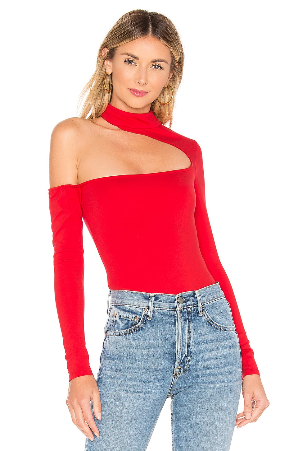 Midland Bodysuit in Red