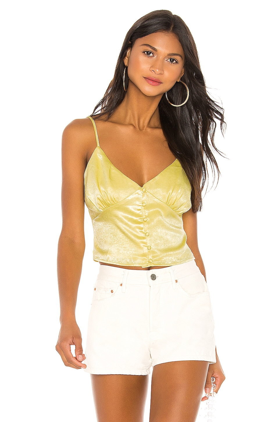 Privacy Please Naomie Top in Yellow