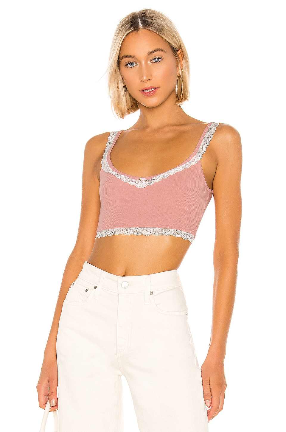 Privacy Please Annabelle Top in Rose Pink
