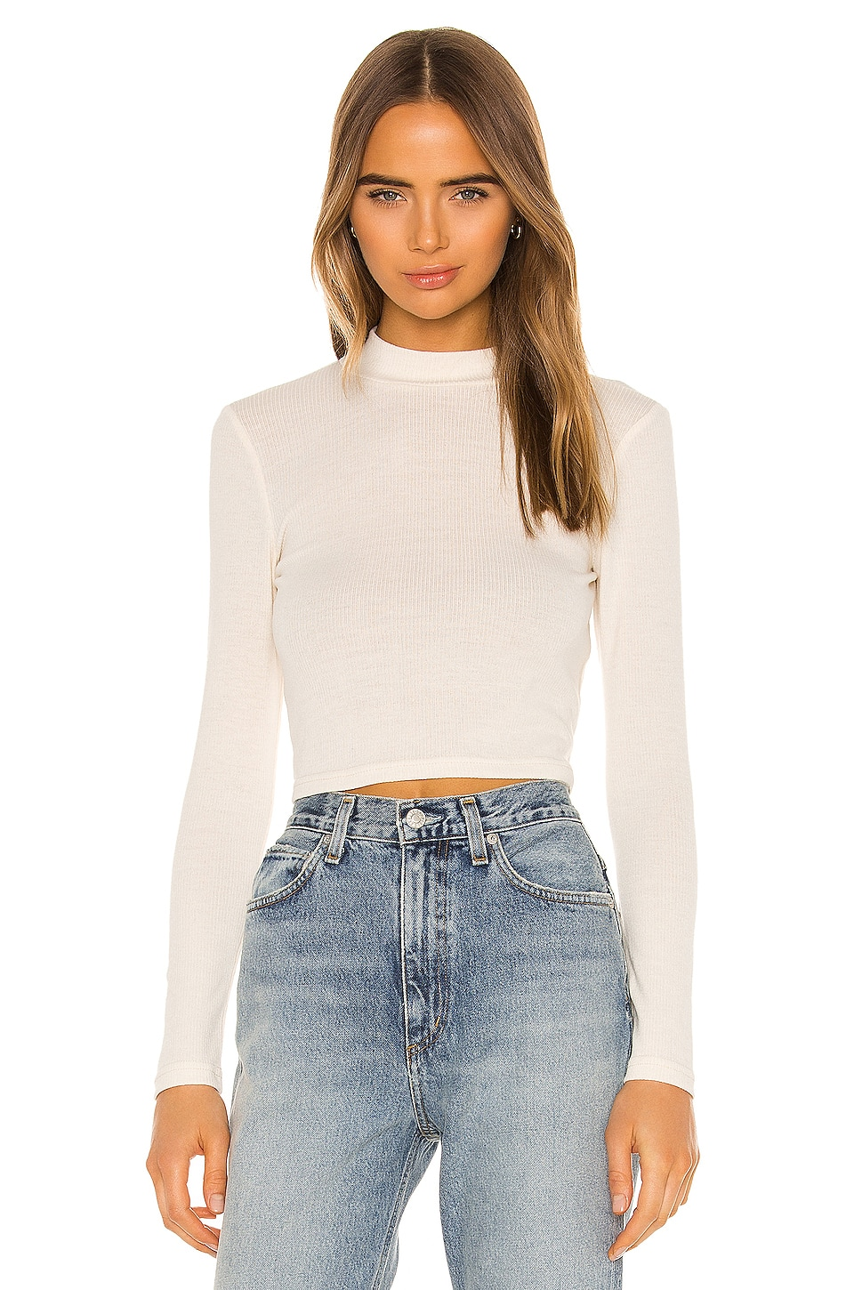 Privacy Please Bradley Top in Ivory