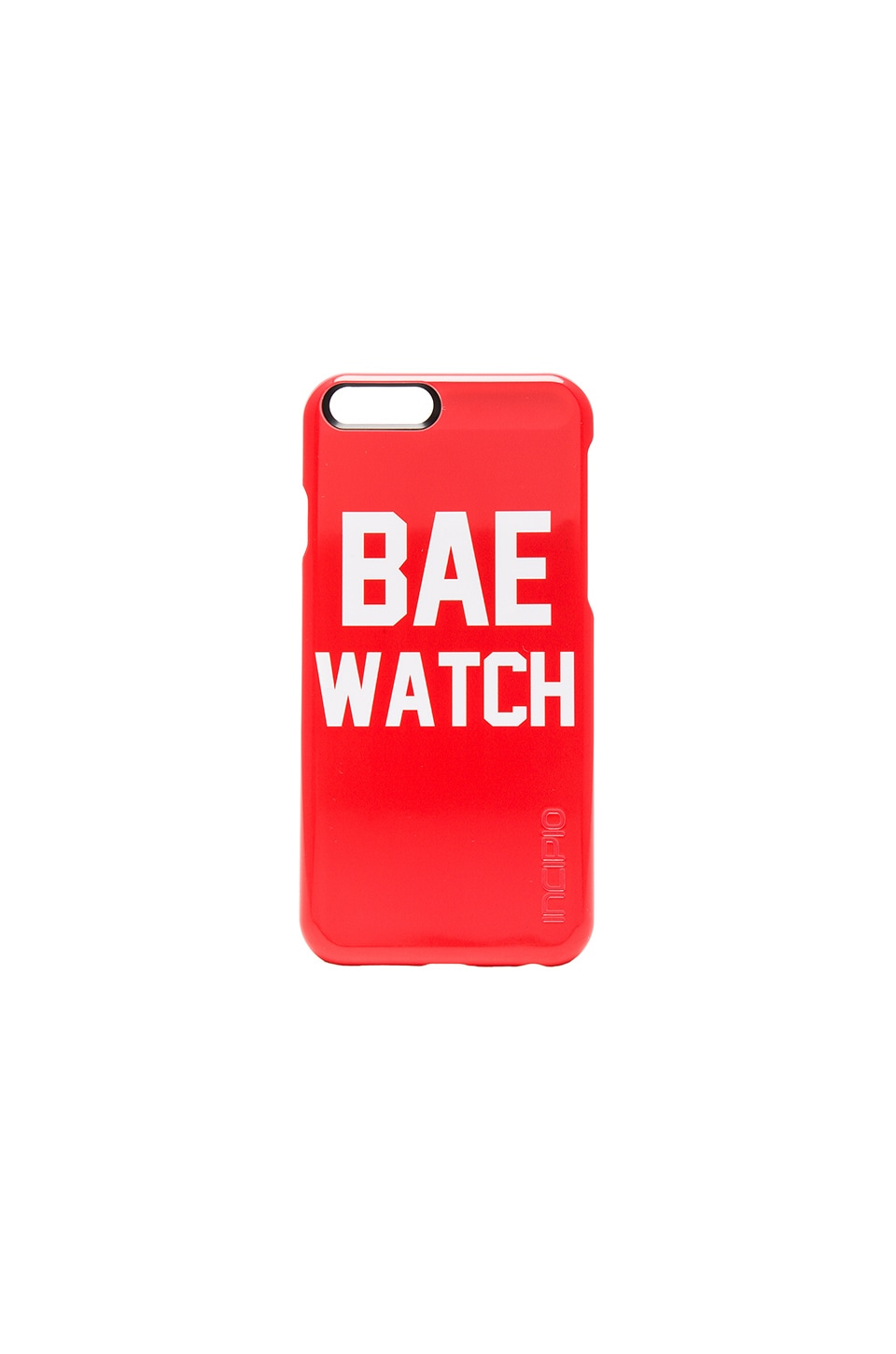 Private Party Bae Watch Phone Case in Red