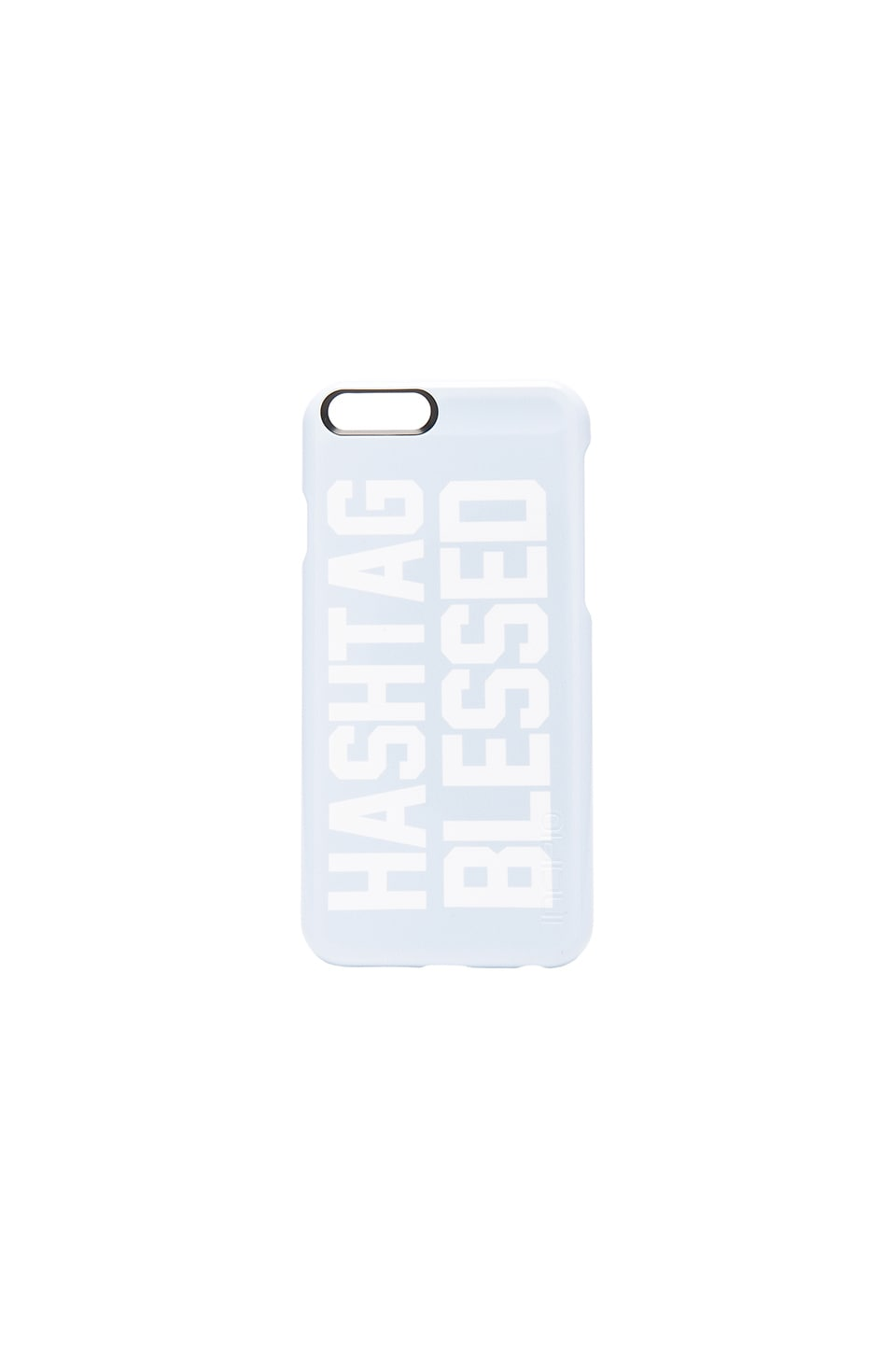 Private Party Hashtag Blessed Phone Case in Light Blue