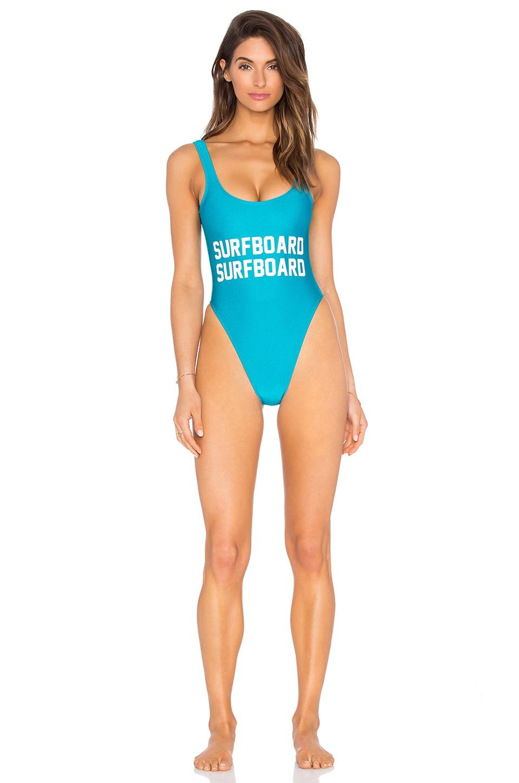 Surfboard One Piece Swimsuit