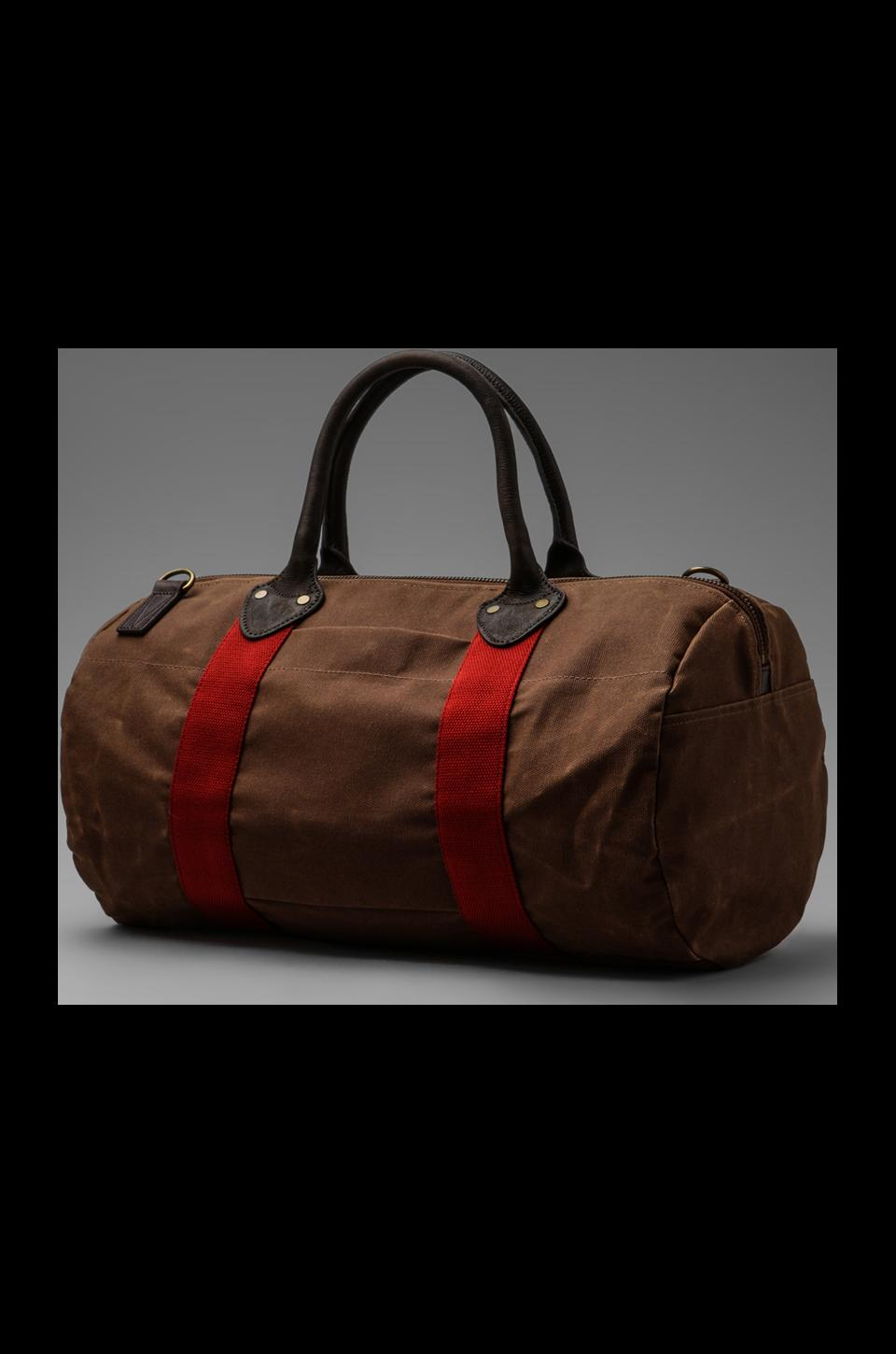 Property of... Rafe Boston Duffle Bag in Brown