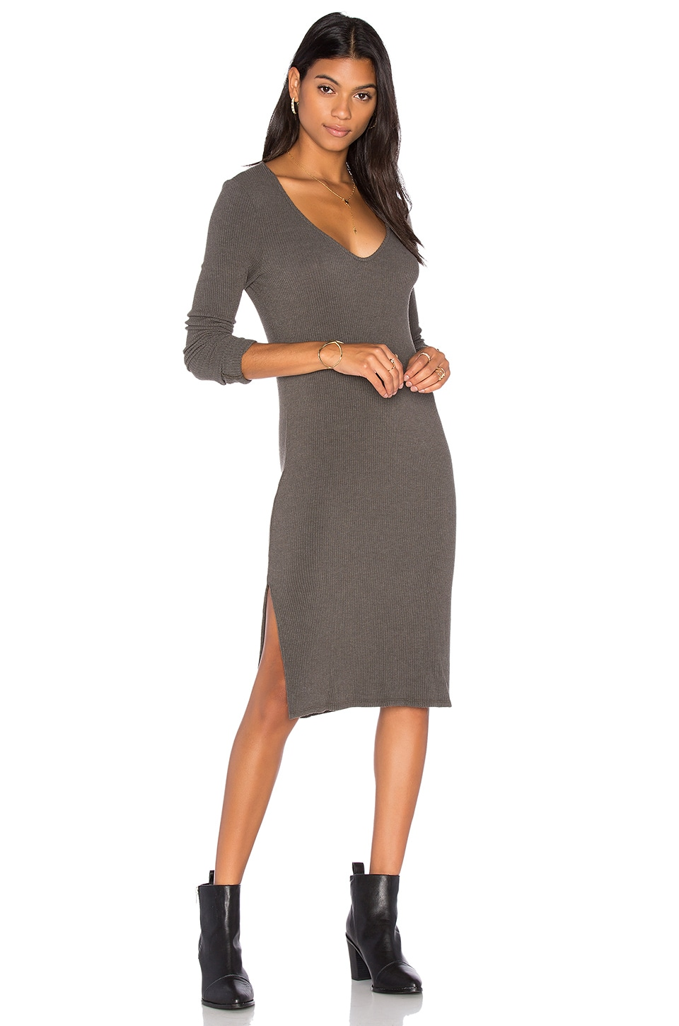 Beverly Slit Dress by Project Social T