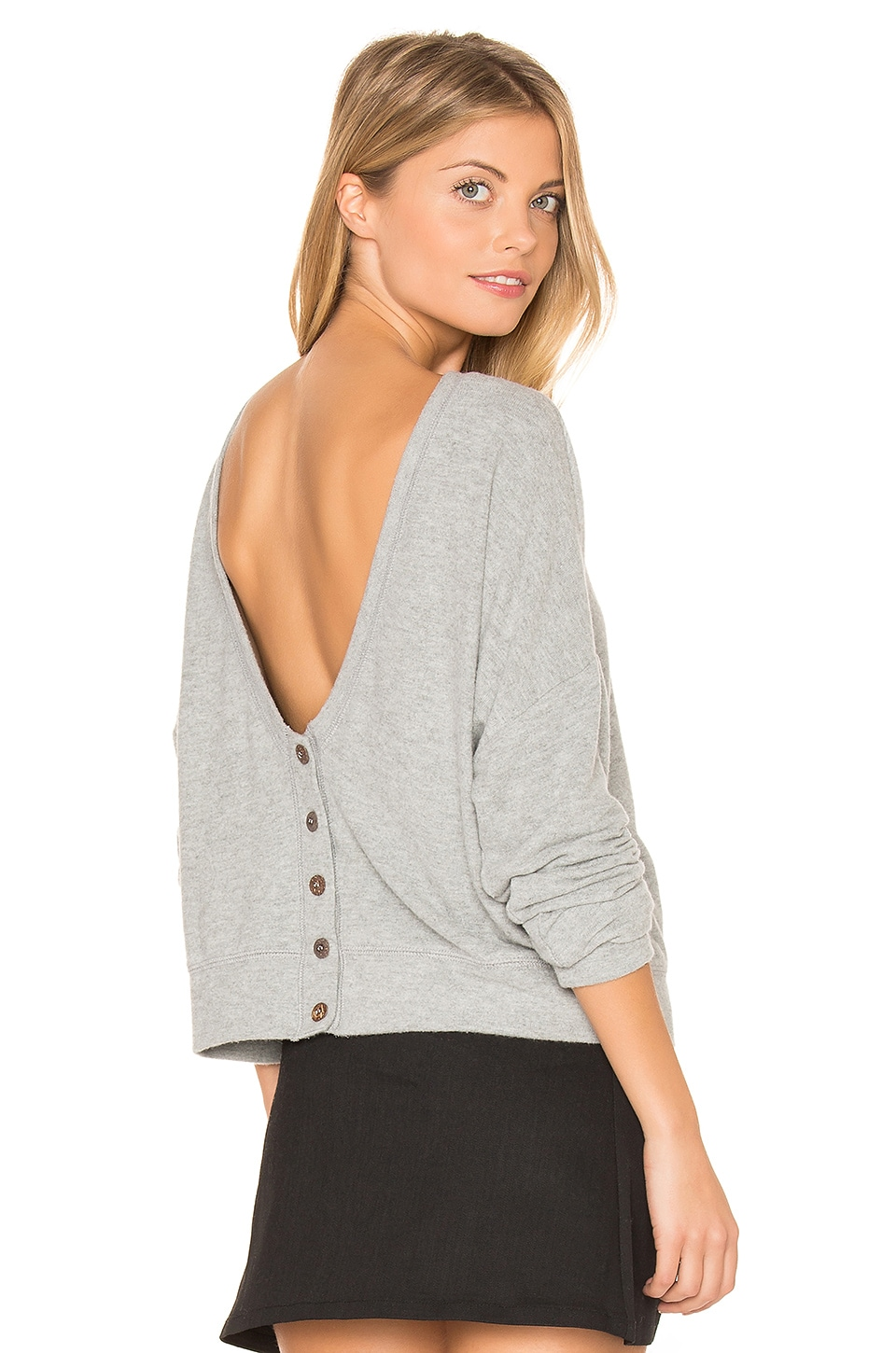 Buy Index Button Back Cardigan by Project Social T
