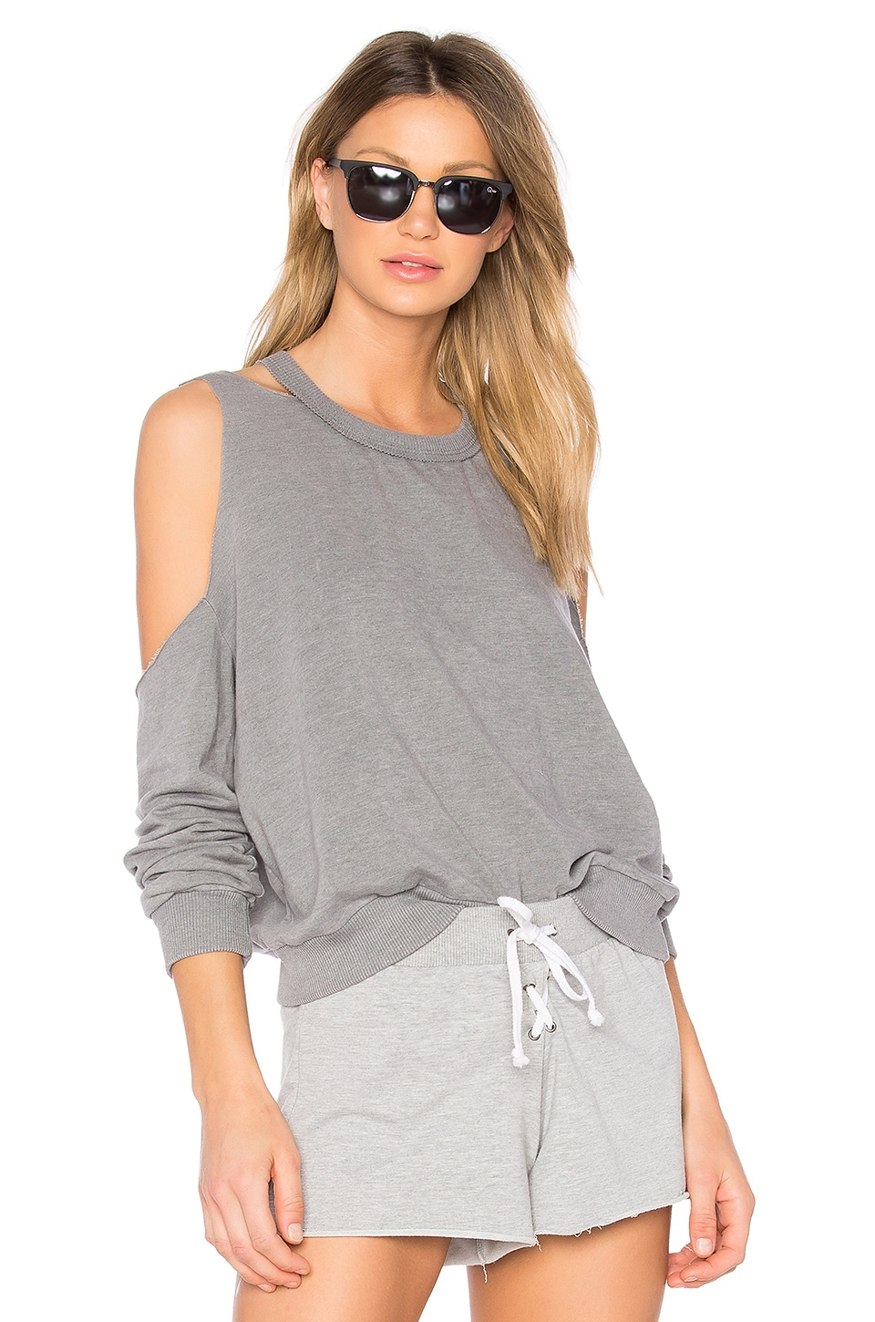 Saguaro Cold Shoulder Sweatshirt by Project Social T