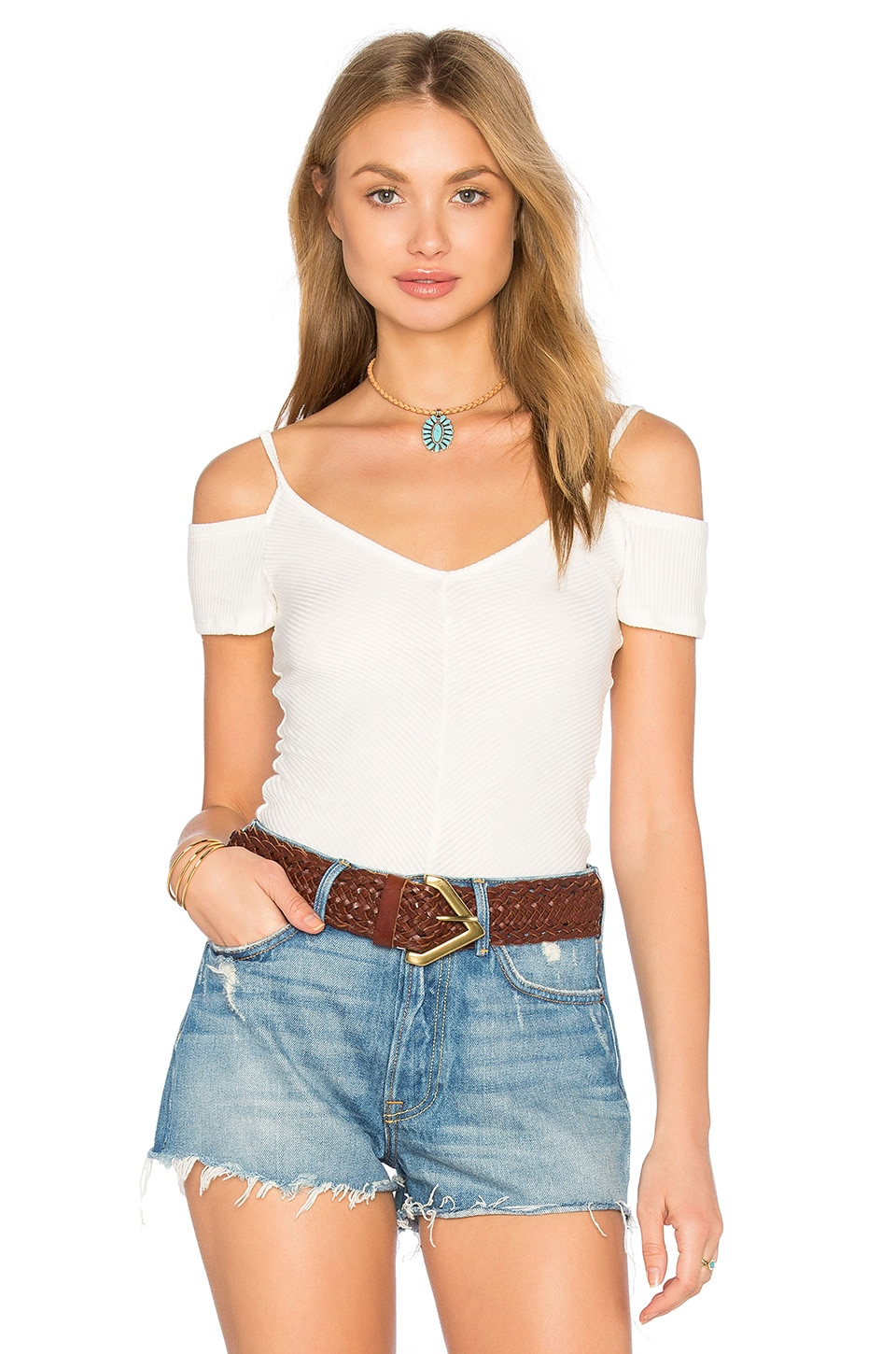 Cold Off Shoulder Top by Project Social T