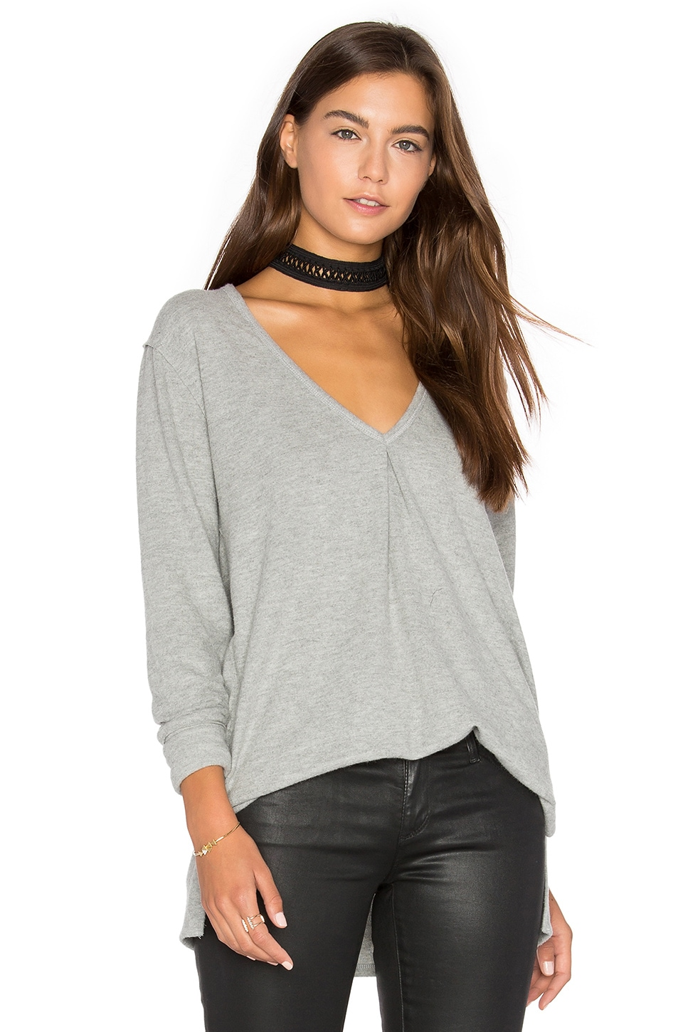 Kinely Front Tuck Long Sleeve by Project Social T