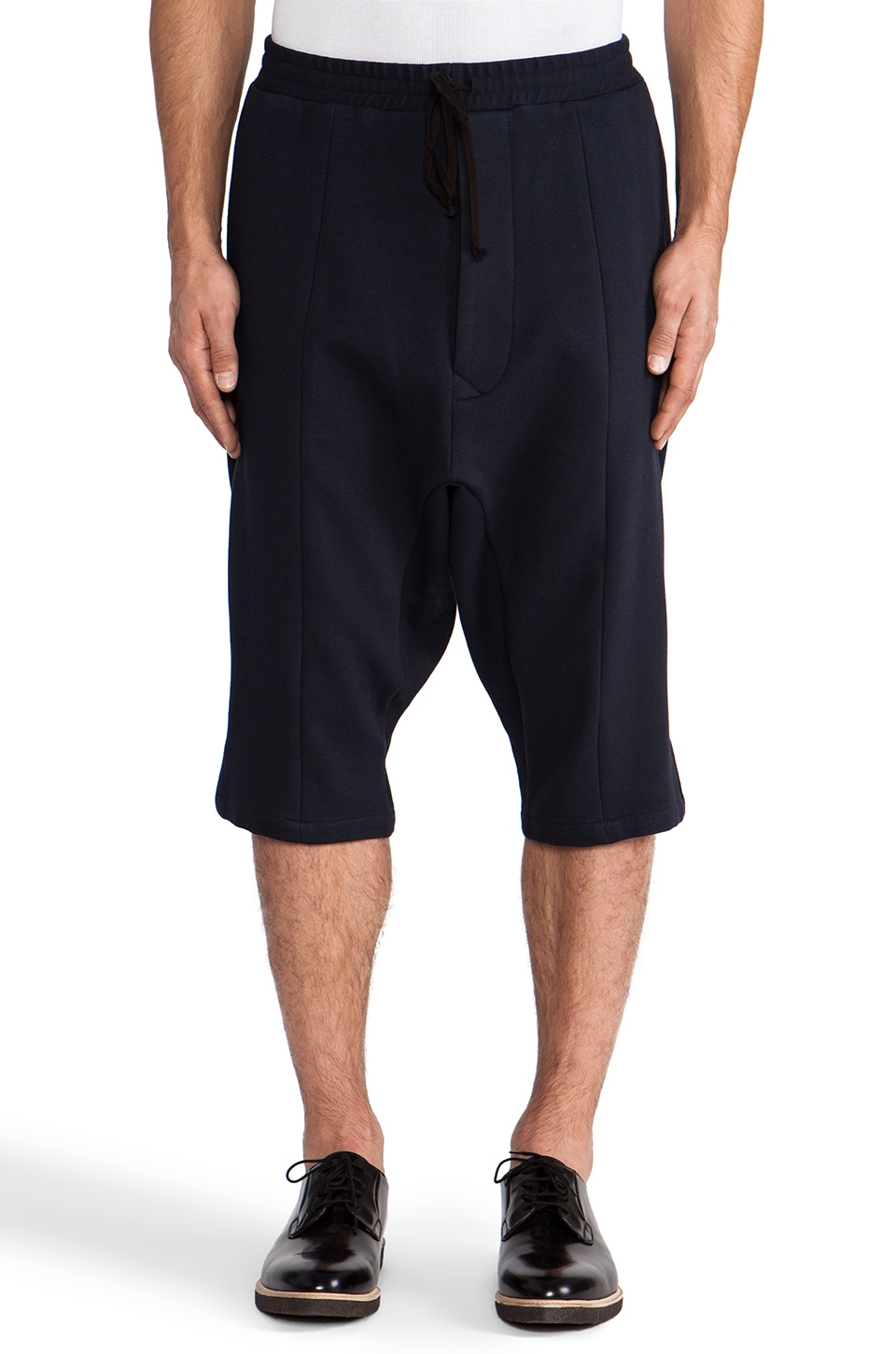Public School Twill Short in Navy
