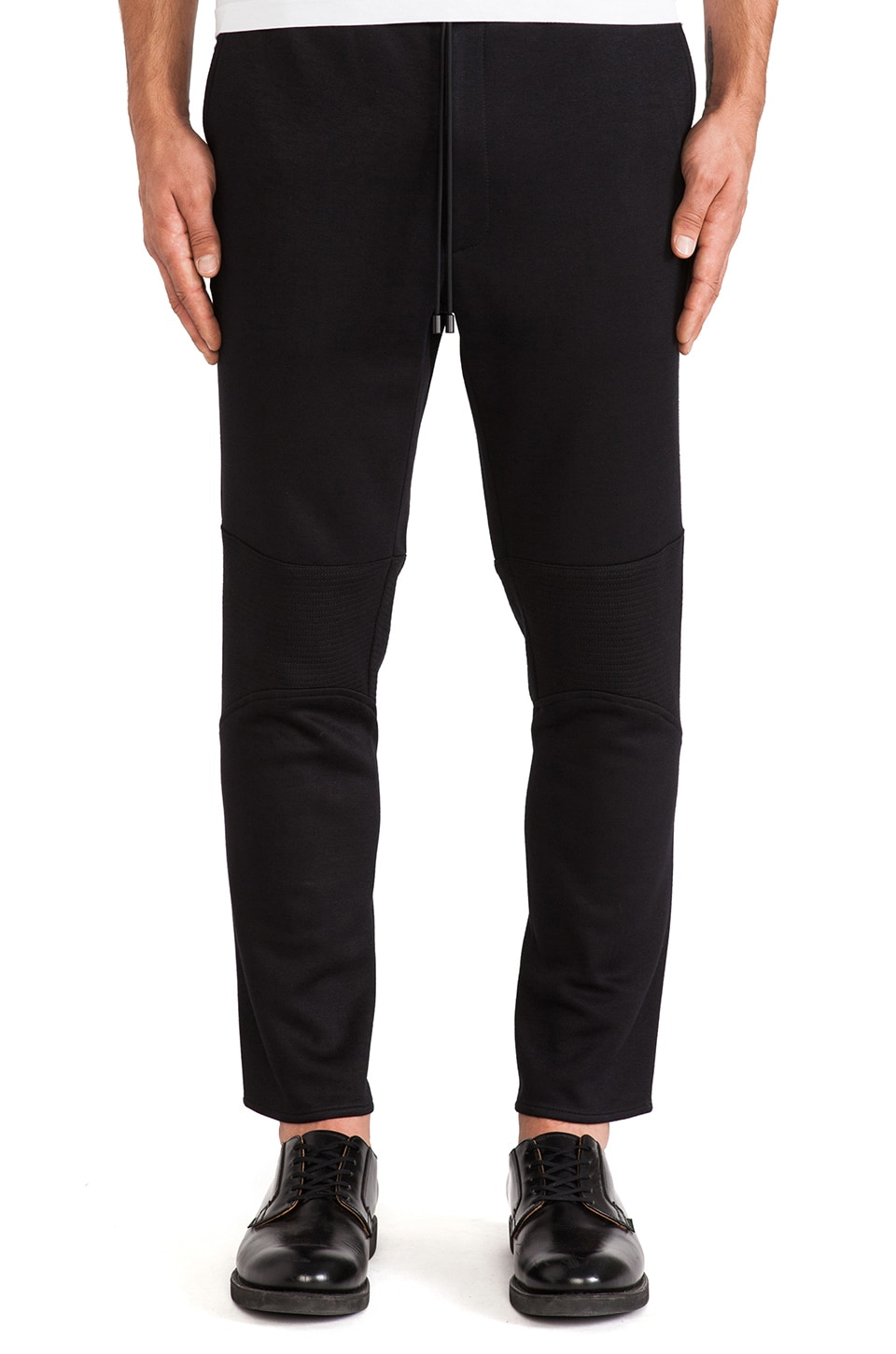 Public School Trapunto Pant in Black