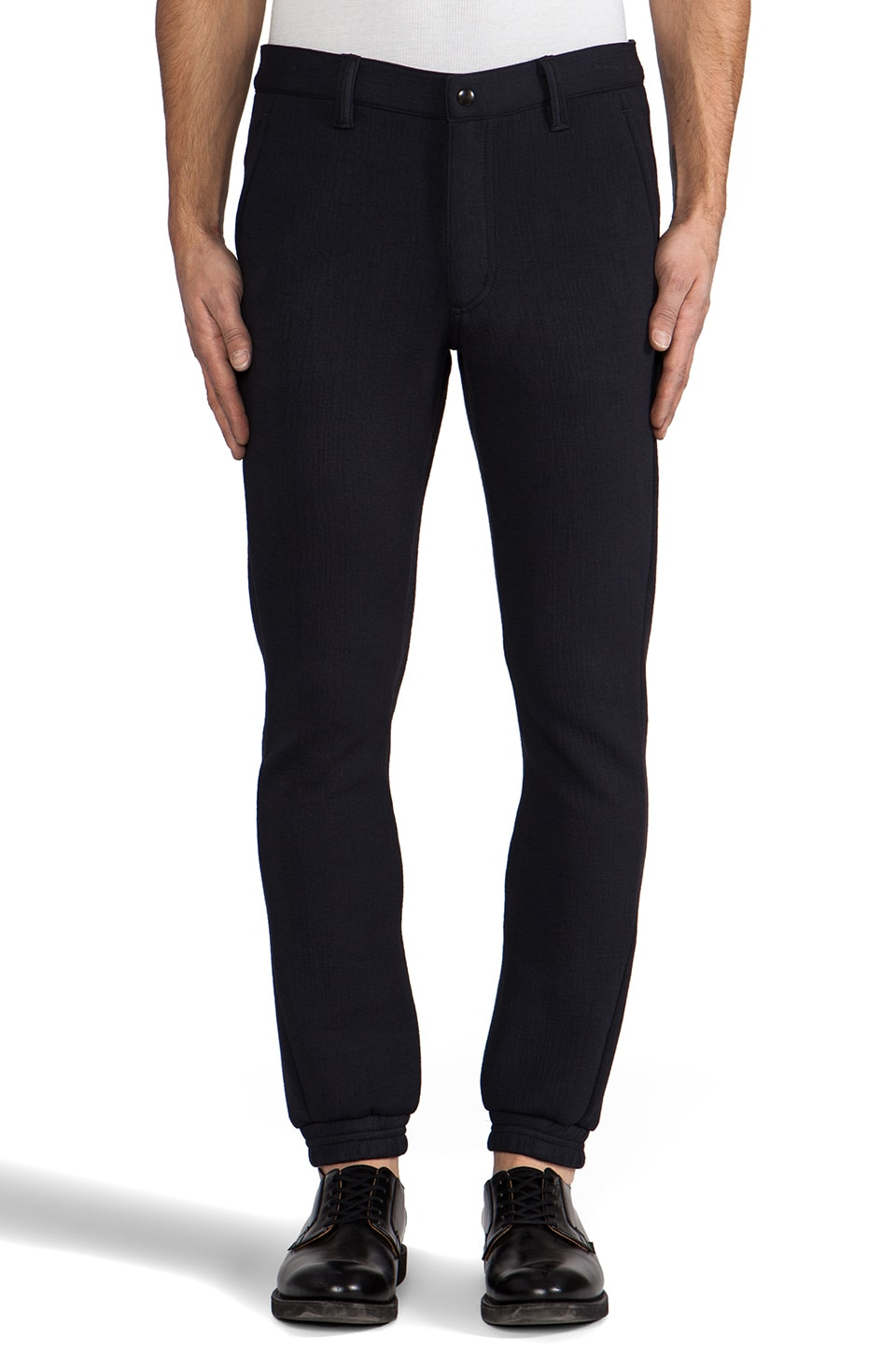 Public School Sweatpant with Constructed Waist in Midnight