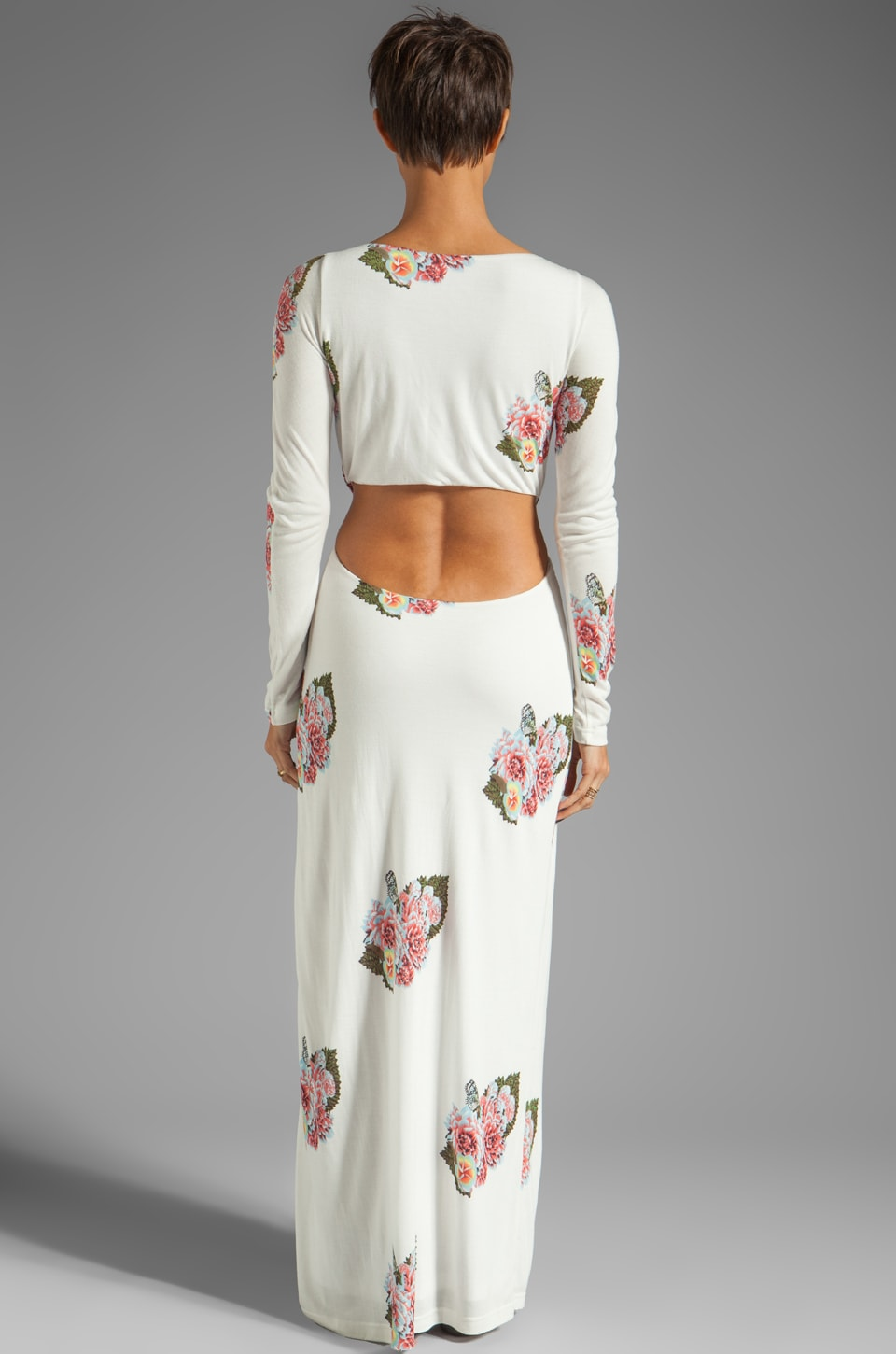 Pencey Standard Open Back Dress in Floral