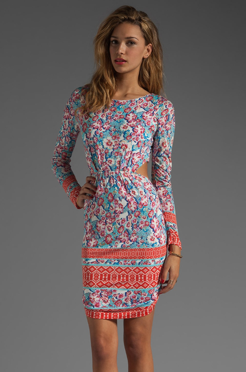 Pencey Standard Open Back Dress in Afghani Print