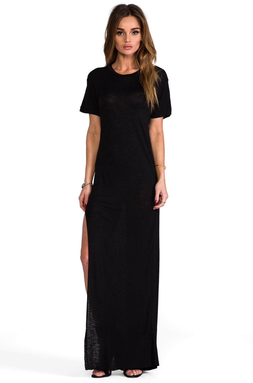 Pencey Standard Long Dress in Black