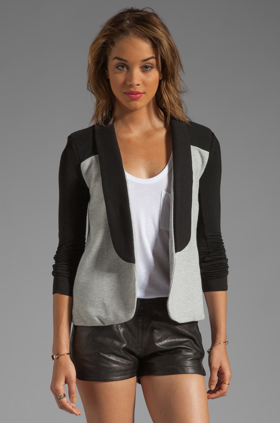 Pencey Standard Warrior Blazer in Black/Grey