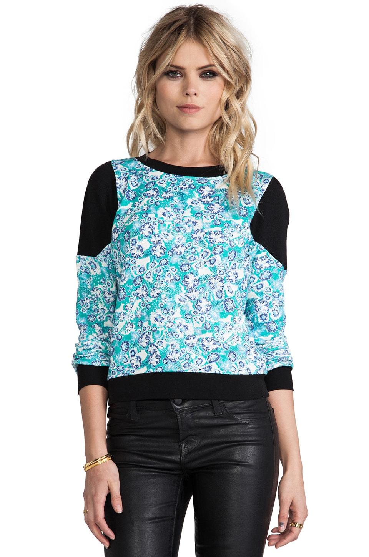 Pencey Standard Inset Sweatshirt in Floral