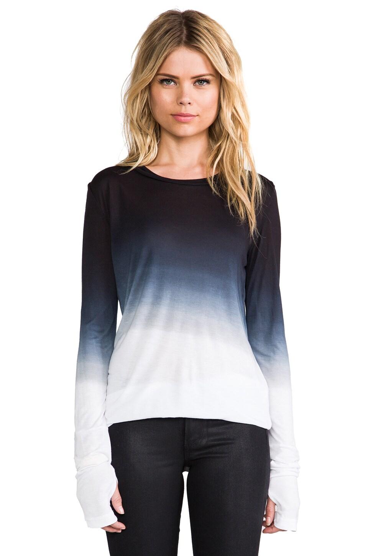 Pencey Standard Cuffed Long Sleeve in Black