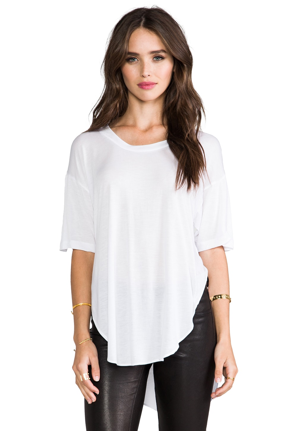 Pencey Standard Oversized T in White