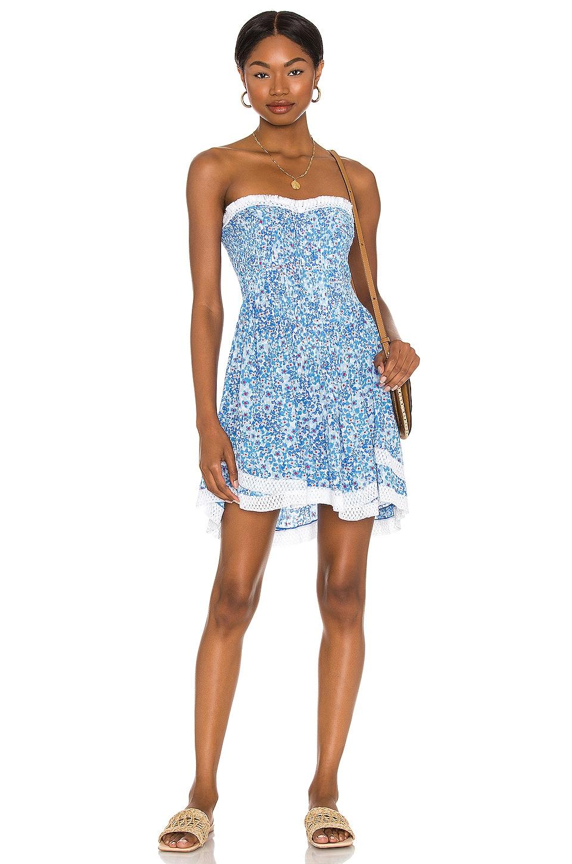 Poupette St Barth Claire Dress in Blue Hortensia