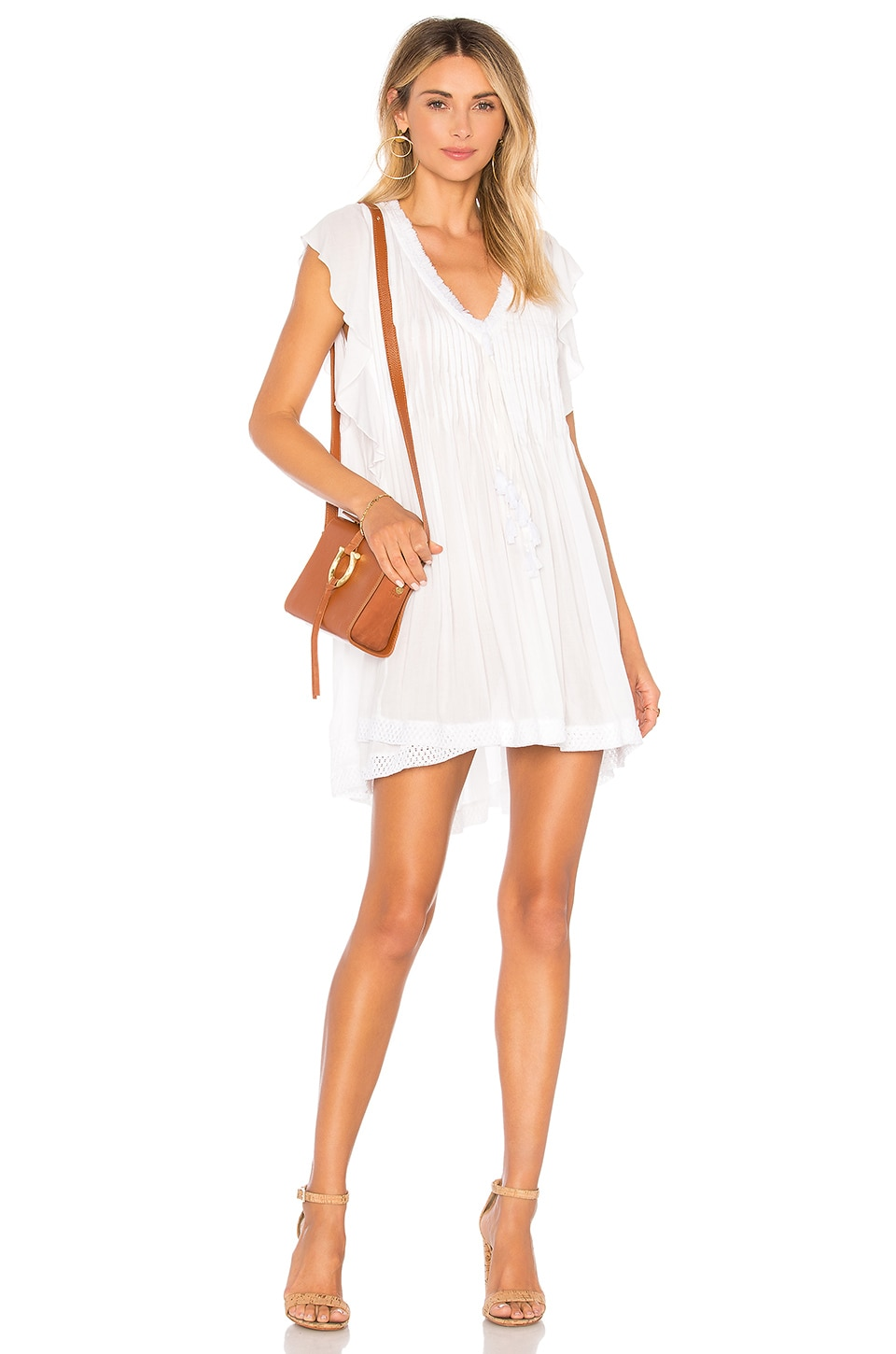 Poupette St Barth Sasha Dress in White
