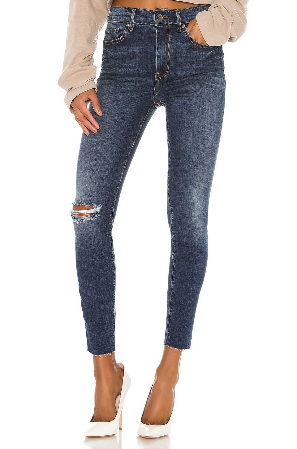 PISTOLA Aline High Rise Skinny in Luxemburg
