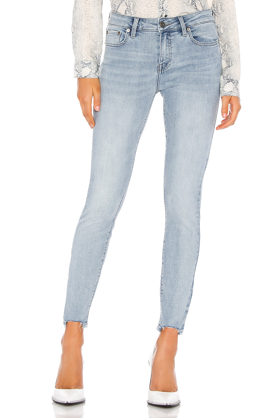 PISTOLA Audrey Mid Rise Skinny in Last Call