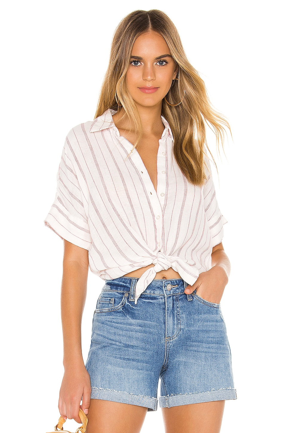 PISTOLA Avery Top in Manchester Stripe