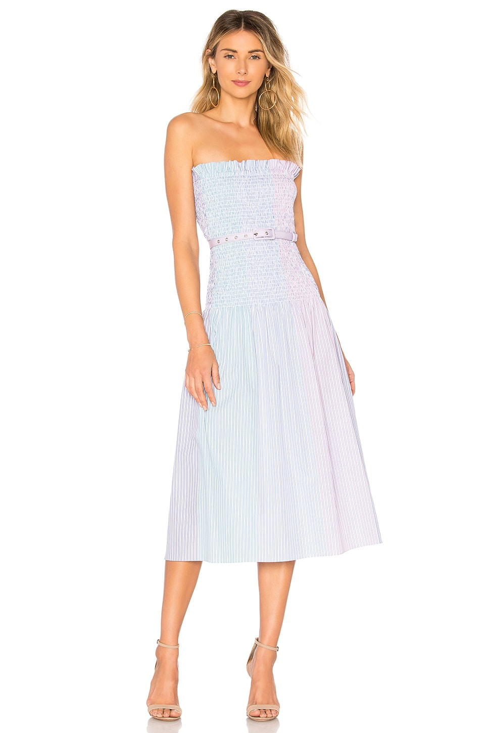 Petersyn Nicky Belted Dress in Cocktail