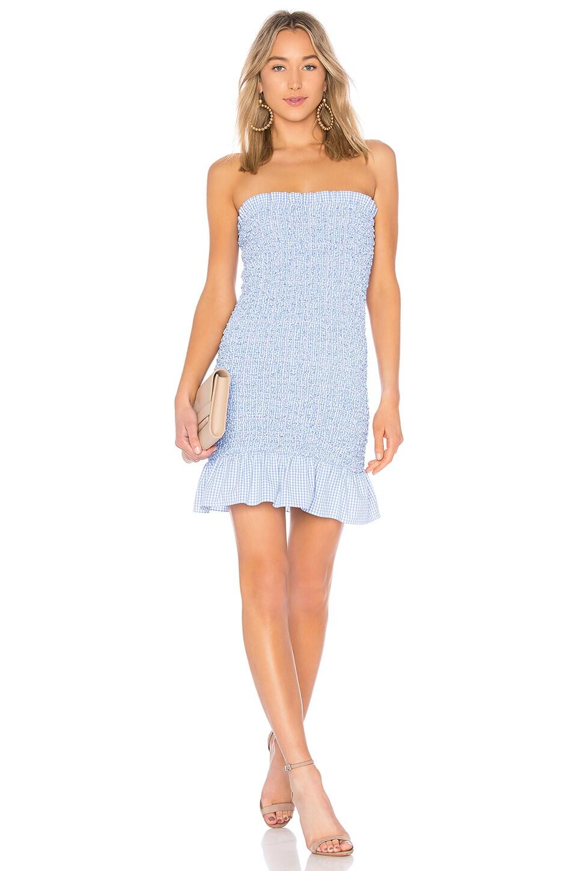 Petersyn Phoebe Dress in Azure