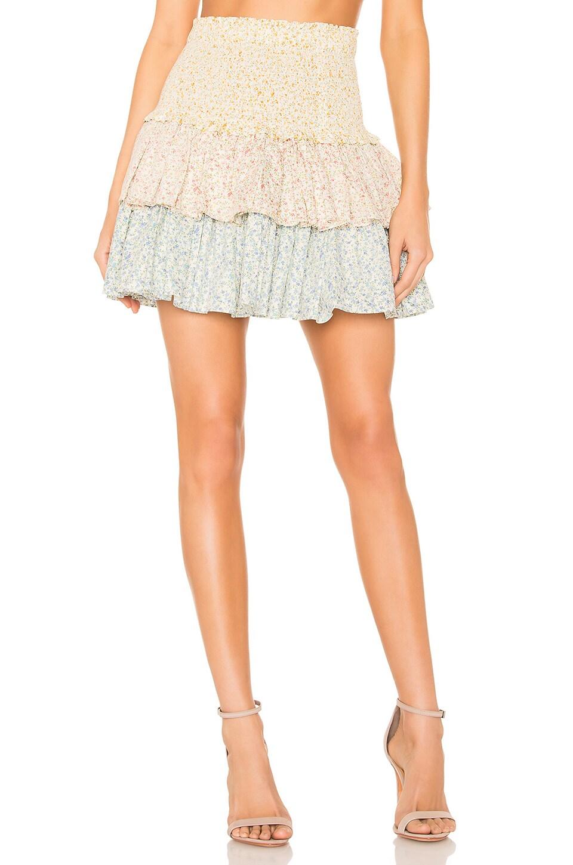 Petersyn Asia Skirt in Patio