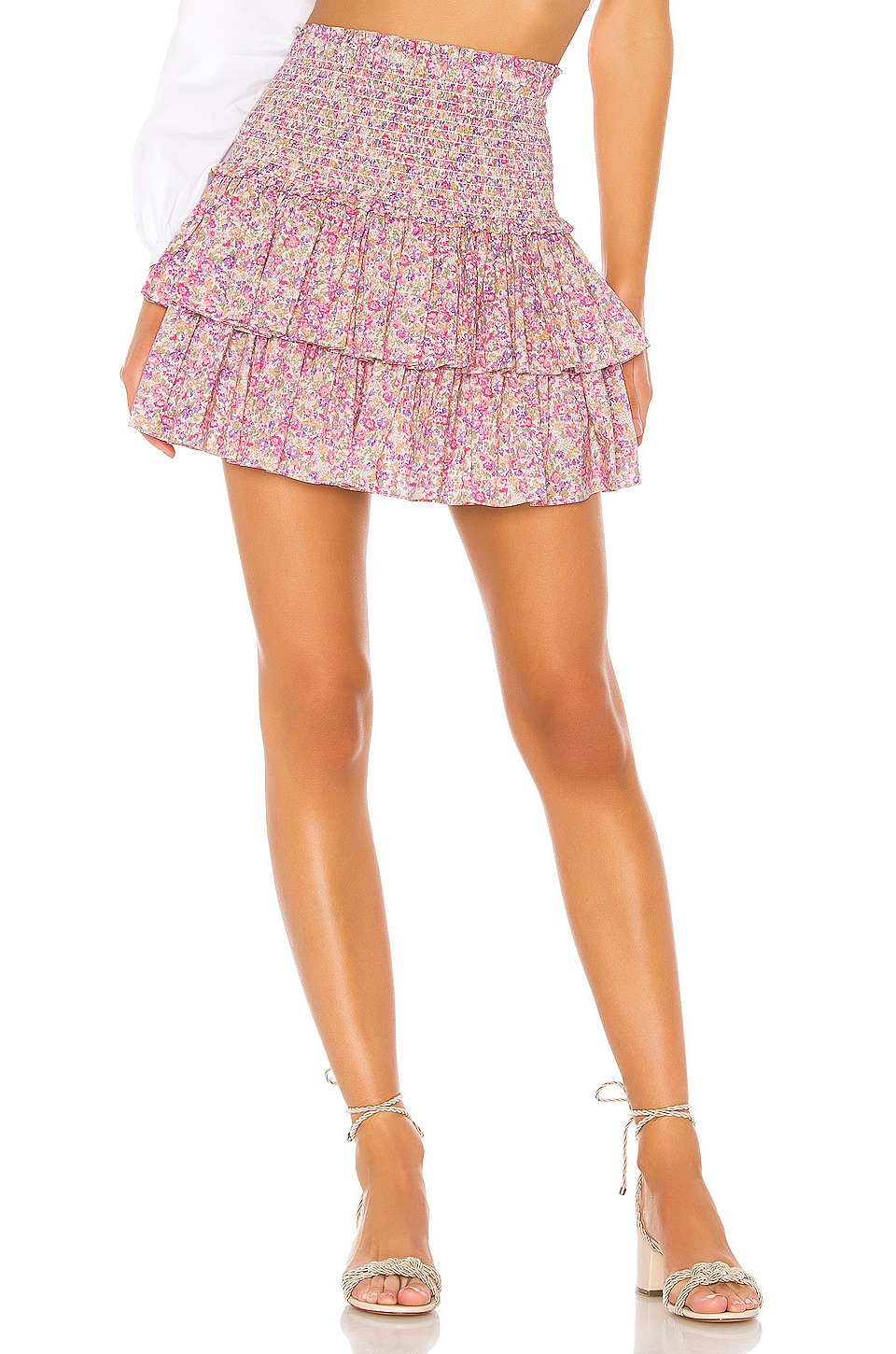 Petersyn Asia Skirt in Pacific