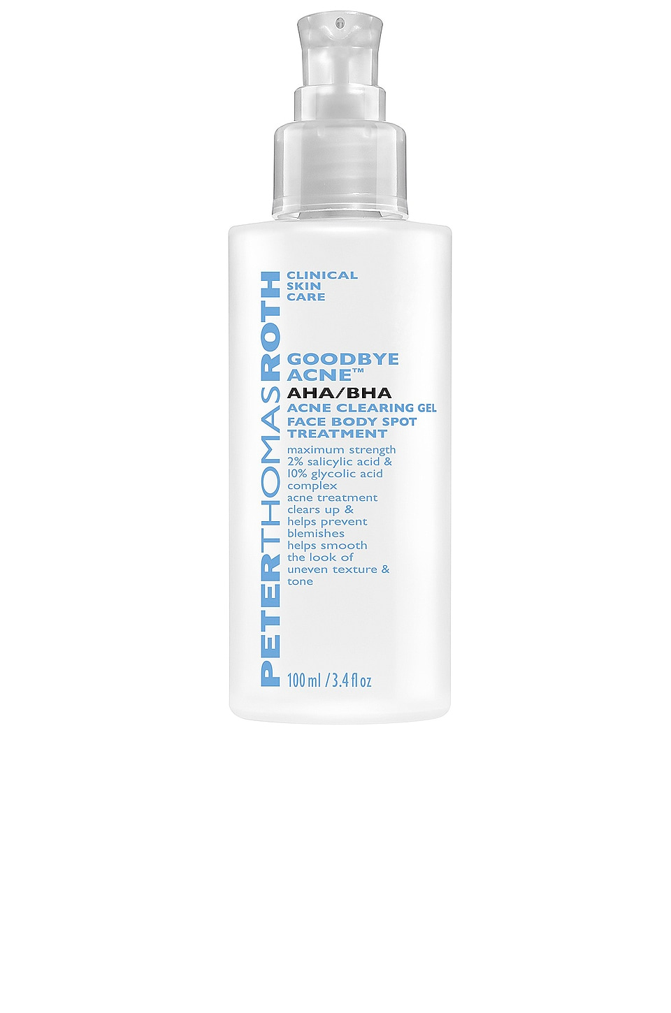 Peter Thomas Roth TRATAMIENTO CONTRA EL ACNÉ AHA/BHA ACNE CLEARING GEL