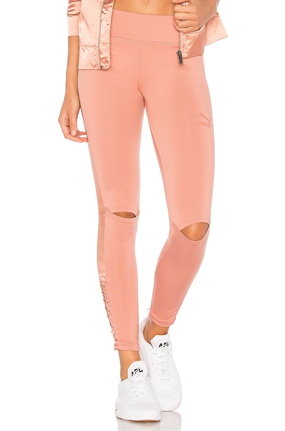 Puma Lux Legging in Cameo Brown