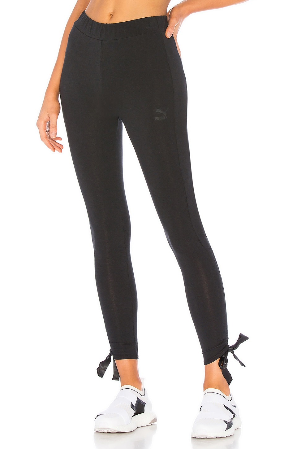 Puma Bow Legging in Cotton Black